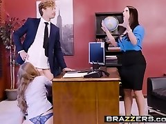 Big Funbags at Work - Pornography Logic scene starring Angela White, L