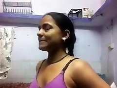 Indian Gal Changing For Her BF