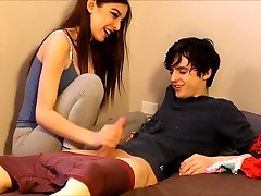 nubile caught her roommate sniffing her panties