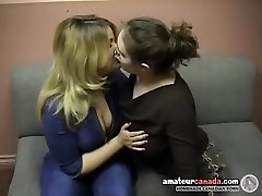 Chubby geek female domination uses belt dick with kissing ditzy bbw