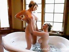 2 Highly Moist MILFS! Julia Ann & Vicky Vette