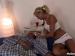His blonde gf cuckold with father in law