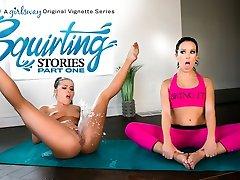 Adriana Chechik & Megan Rain in Spurting Stories: Part One - GirlsWay
