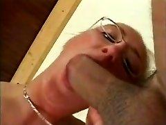 Big Tits German MILF Dressed In Glasses
