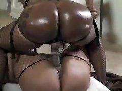 Black lesbians hefty phat asses huge strap on dildo