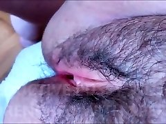 Wooly AND SEDUCTIVE Labia WITH SOFT LIPS DRENCHED WITH SPERM