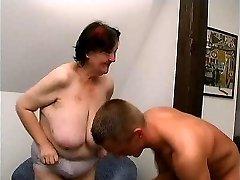 young guy fucks 70 yo gross fat grandma oma