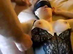 Huge-chested slutty wife group sex party