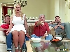 Brazzers - Stepmom takes some young spear
