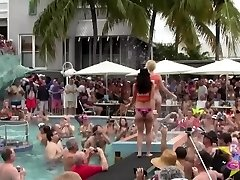 Naked Pool Sluts Key West Fantasy Fest Rnd2
