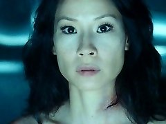 Lucy Liu Bare