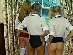 Schoolgirls Spanked And Screwed