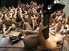 AMERICAN BUKKAKES BIGGEST SWALLOWS - Scene 1