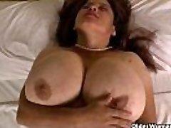 Granny Brenda&#039_s bingo night turns into a masturbation frenzy