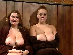 Big Jugged Sandy-haired And Friend Publicly Punished