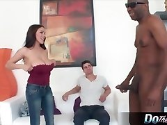 Horny housewife gets her furry muff creampied
