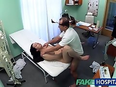 FakeHospital Hot babe wants her Medic to suck her melons