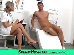 CFNM spear medical exam with sexy Czech Milf doctor Beate