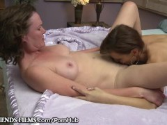GirlfriendsFilms Lesbo Milfs Make Each Other Wet