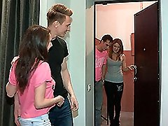 Brian & Renata & Curtis & Inna in Fucking Welcome To Gang Fuckfest - YoungSexParties