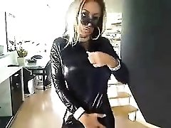 German striptease on web cam - more vids on sexycams8 org
