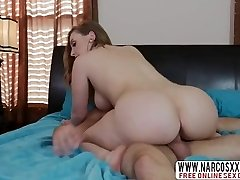 Blondie Step Mom Harley Jade Gives Her Sonny While Wife Sleeping