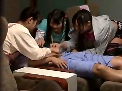 Horny Japanese chick Mamiru Momone, Mina Yoshii in Amazing Fingering, Facial JAV vid