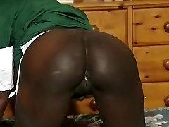 Hottest amateur Black and Ebony, Big Tits sex video