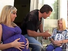 Torrid Blond Teens Callie And Elaina Get Preggers