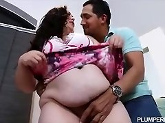 Pregnant BBW Vanessa London Romps Hubbys Best Friend