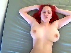 Orgasmic bouncing boobs banged hard by young Boyfriend