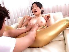 Exotic Asian chick Azumi Mizushima in Extraordinaire JAV censored Swallow, Hairy clip