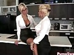 European Babe Puma Swede Porks the Office Slut!