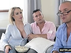 Big tits pornstar tit smash and cum in mouth