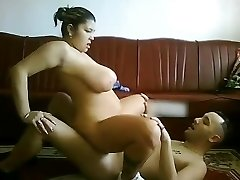 My CHubby Latina GF with huge hooters riding my cock on web cam