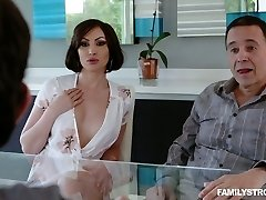 Hot and extremely horny redhead milf is glad to fellate meaty dick