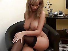 Brilliant Wife Zuzana lovely Girl Nylon boobs leg dream tits