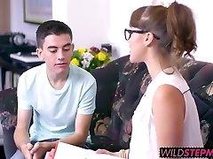 Ania Kinski and Zoe Chick wedged by Jordis massive cock