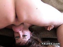 Spanish stunner licks donk and deep throats uk agent