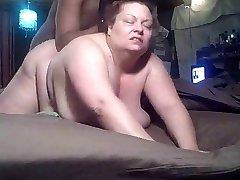 BBW fuck-a-thon clip