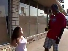 Midget Mya Likes to be Humped By BBC and Taste Cum