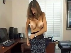 stepmother is a porn actress and milks son