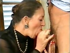 French-German Grannie Anally Fisted