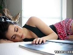 Kylie Quinn in The Needy Childminder - TeamSkeet