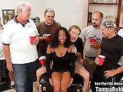 Beautiful Big Tit Teen Humped by Bukkake Geysers