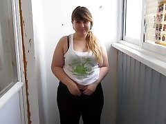 Russian, Gigantic Female With By A Pussy Hairy, Pee For You:)