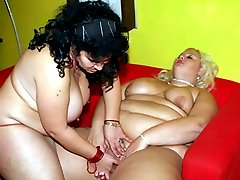 Chubby chicks Melinda Shy and Rosa got bored so they engaged in pussy slurping in this kinky BBW movie