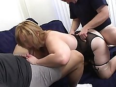 Jizzing on her rock-hard fucked pussy