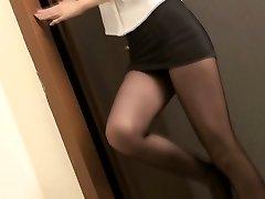 Asiatique Glamour - Belles étudiants filles dans des vêtements sexy v8
