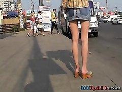 azijske upskirt voyeur dejanje